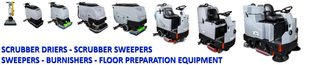 walk-behind floor sweeper