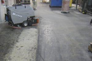 Magnum Floor Scrubber Sweeper