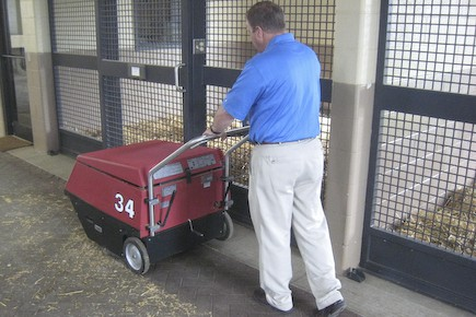 Industrial Battery Powered Floor Sweeper for Hire