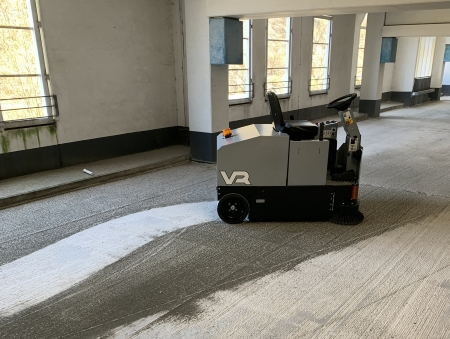 Ride-on sweeper hire