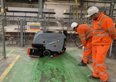 Carbon Scrubber Sweeper