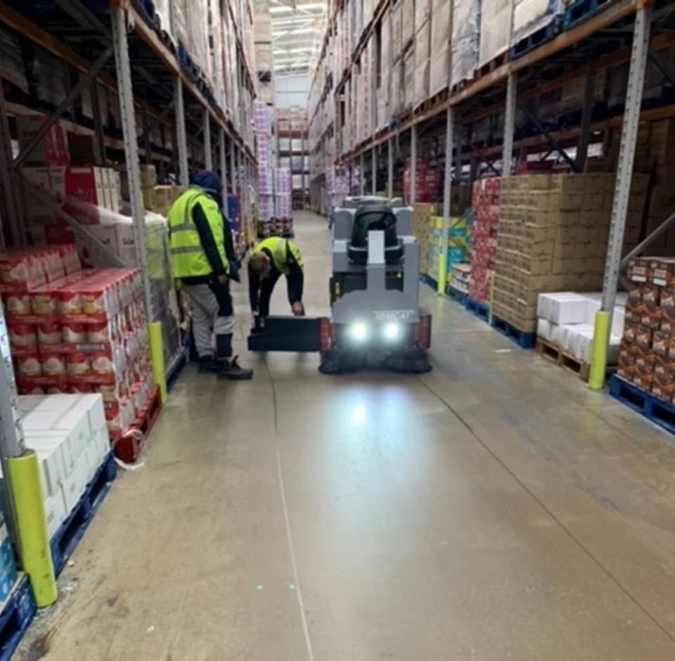 Supermarket floor 5